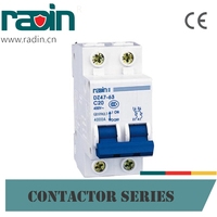 1A 63A Mini vacuum Circuit breaker With overload protection