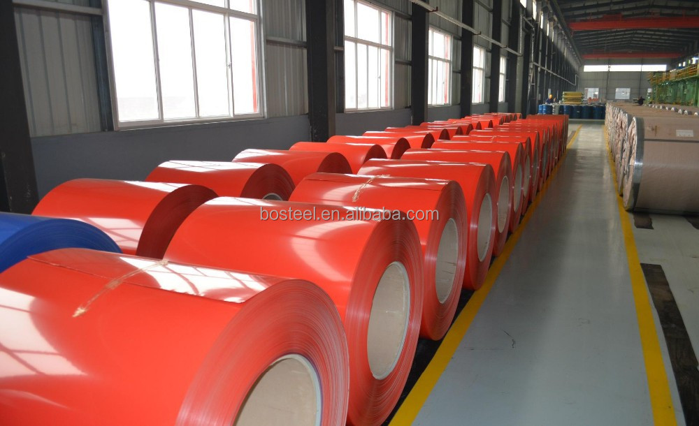 Primary quality galvanized steel coil ppgi coil corrugated galvanized zinc metal roof sheet