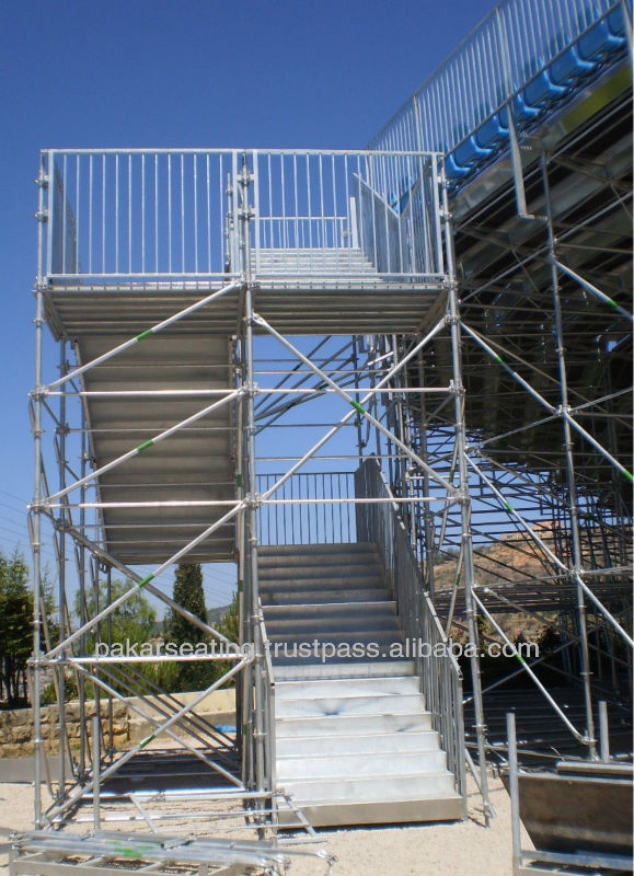 Pakar Best Selling Galvanised Stairs and temporary access