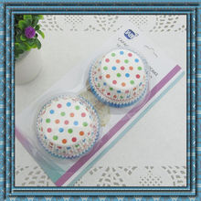 High quality paper cupcake by blister card