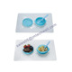 Premium Baby Toddler Food Feeding Silicone Bowl with lid