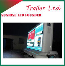 Fast delivery panel truck display led huge screen display live news broadcast video music picture movie