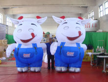 customized cow inflatable costume