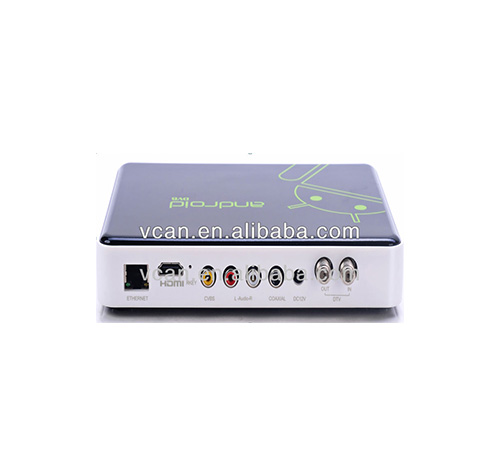 VCAN0662-8 Android hd settop box with DVB-T2/S2