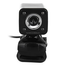 BI159 USB 2.0 0.3MP LED HD Webcam Web Camera Cam MIC for PC Laptop Black