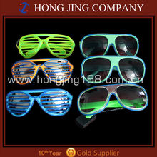 flashing LED sunglasses for party