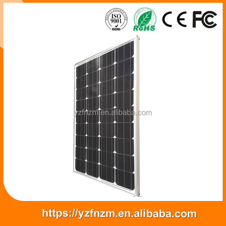 Top selling products 2016 150 W 9.17 Lsc/A electric solar panels for homes