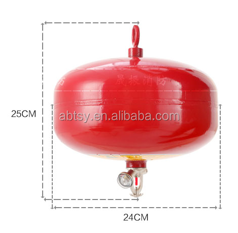 Hanging Automatic Super Fine Dry Powder/ABC Dry Powder Fire Extinguisher Ball