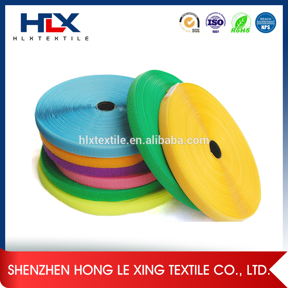 Made in China Low profile colorful 25mm hook and loop series of Higih Quality