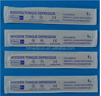 cheaper price of Disposable wooden tongue depressor