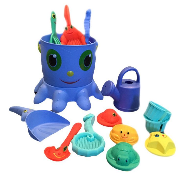 Cheap mini summer toy plastic beach buckets toy educational magic sand toy for kids