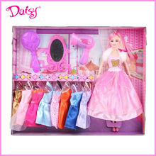 children cosplay game doll dress up baby doll