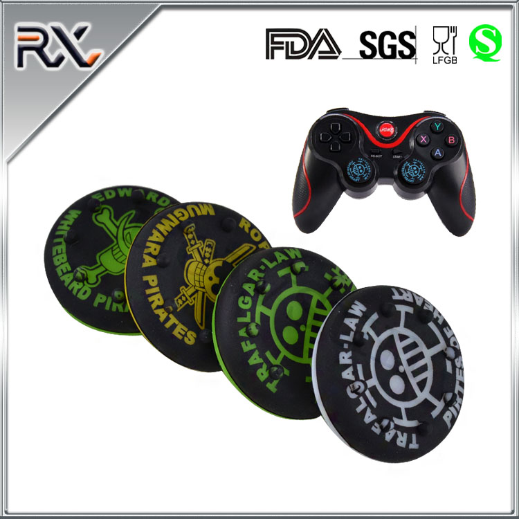 Silicone Thumb Grips Cover For POUR PS4&XBOX ONE&XBOX360