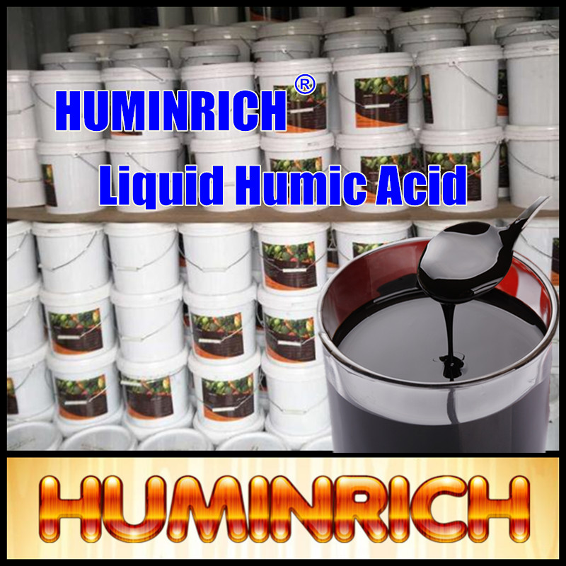 """HuminRich""Shenyang Humic Acid Liquid 12% with Fulvic Acid Potash Mineral Organic Fertilizer for Liquid Formulation in Agricultu"