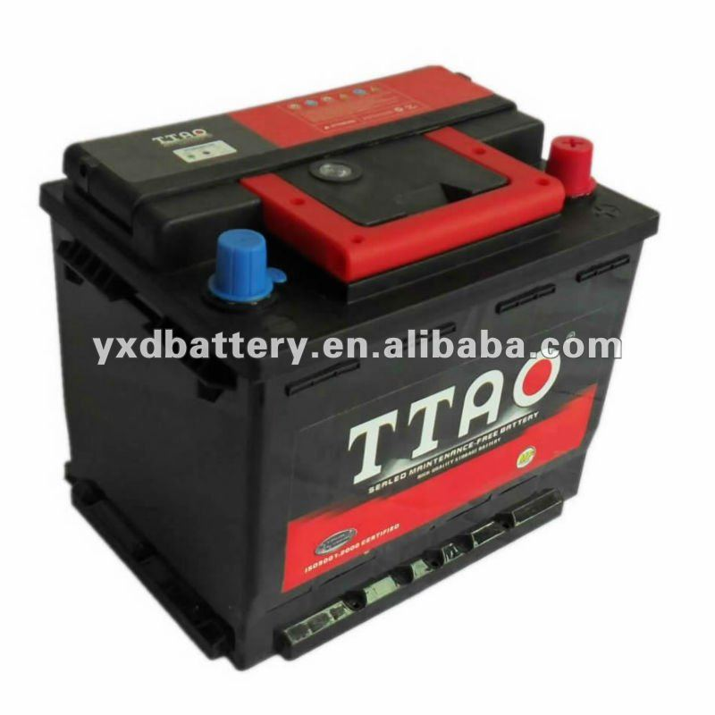 Good Performance Sealed MF Car Battery 12V44AH 54523