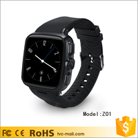 Z01 Waterproof 3G WiFi Smart Watch Android Phone with Capacitive Touch Screen 512M + 4GB
