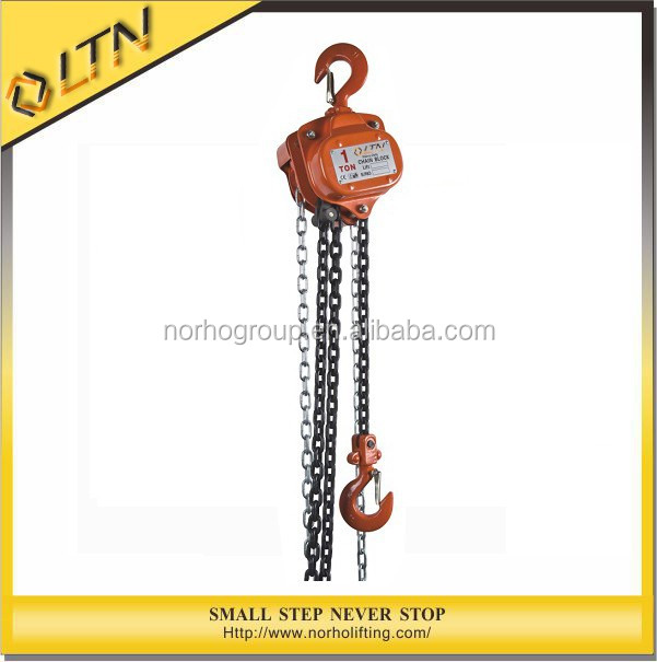 Manual 50 Ton Chain Hoist Load Limiter & Mechanical Hoist & Lifting Hoist