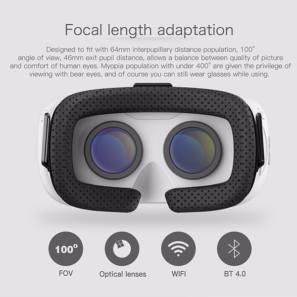 Wholesale V3 Mini 3D Glasses For <strong>Video</strong> Playing VR Glasses Box