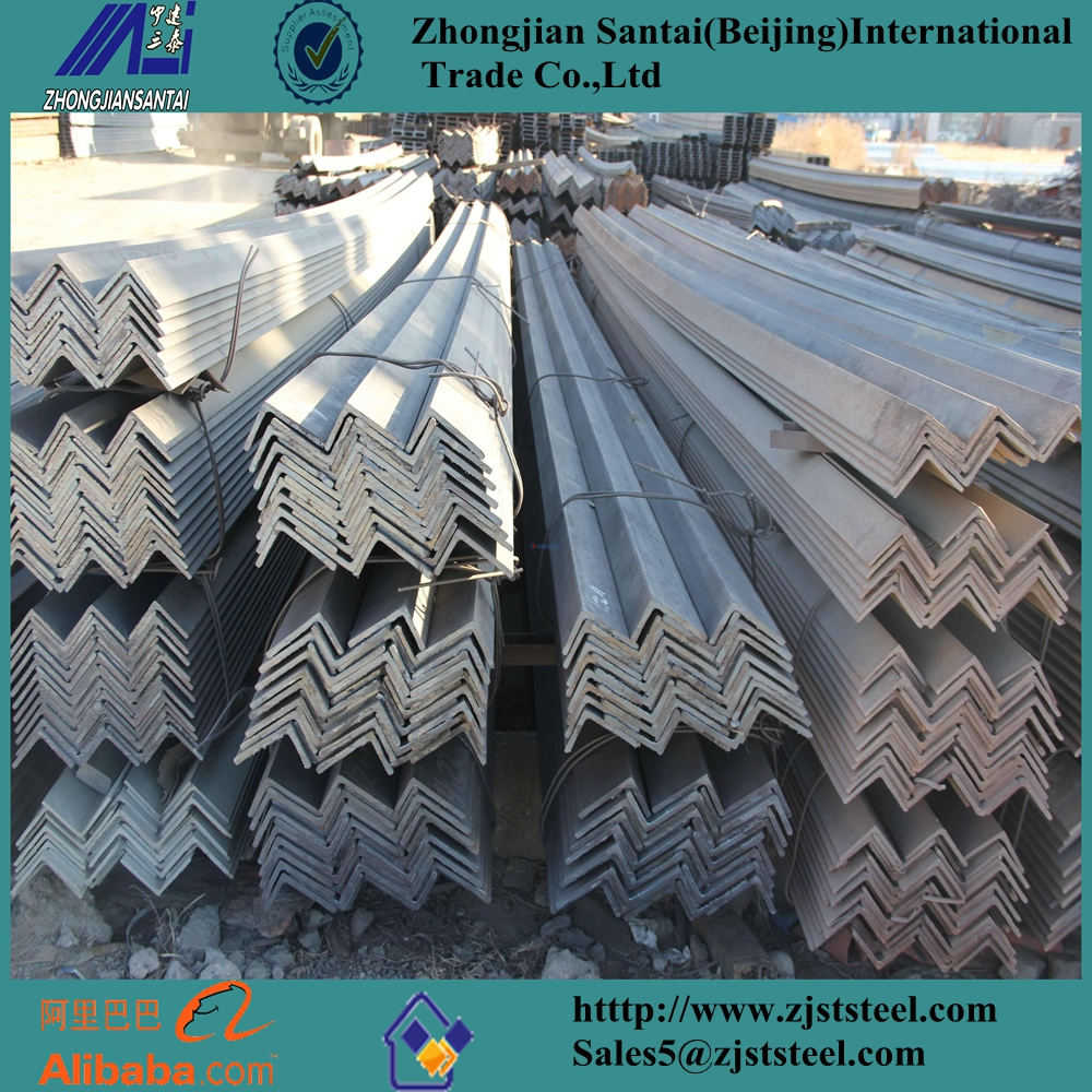 50mmx30mm steel metal angle iron for engineering structure