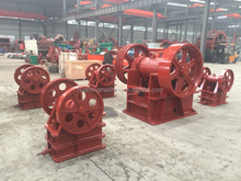 Jaw crusher crushing stone rock crusher for construction waste crushing plant