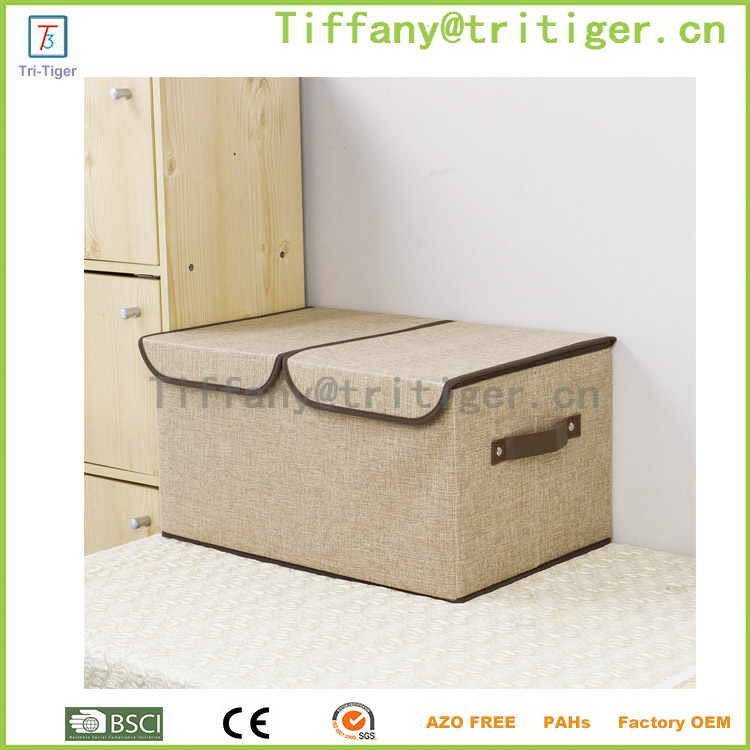 2016 Most Popular pure color Dress Storage Cube Box Organizer OEM&ODM service cardboard storage organizer box