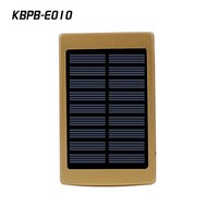 2016 hot selling Portable 20000mAh solar power bank with LED camping light