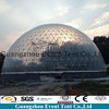 large size hot dip galvanized steel structure dome cabin kits geodesic dome tent for trade show tent