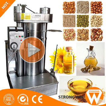 Strongwin cold press hemp seed oil /oil pressers machine