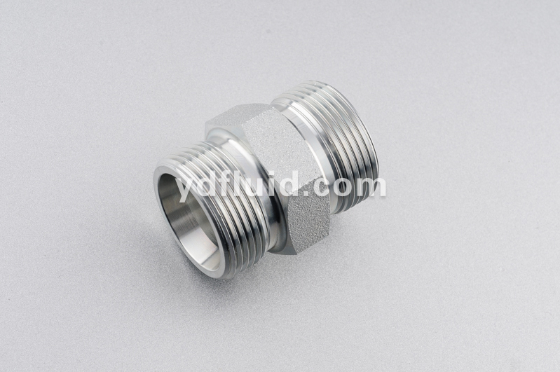 hydraulic Metric straight male tube fitting