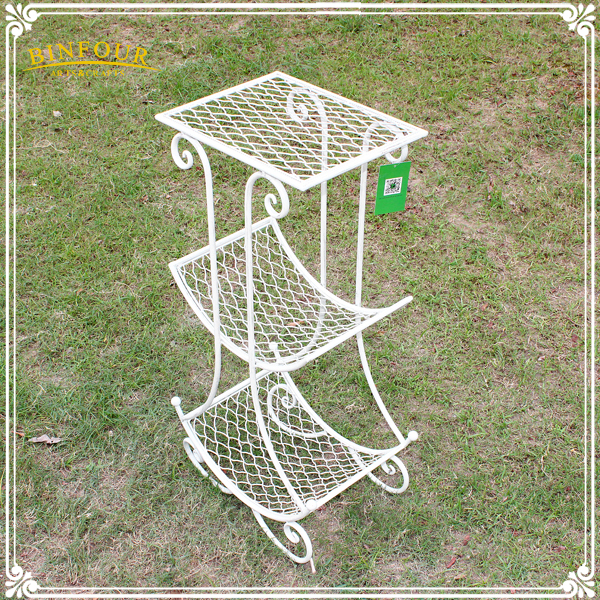 3 Tier Wrought Iron Plant Stand Home Design Flower Pot
