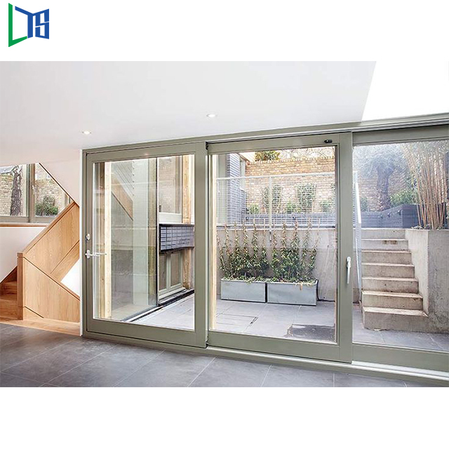 Various Designs internal blinds glass cheap aluminium sliding door