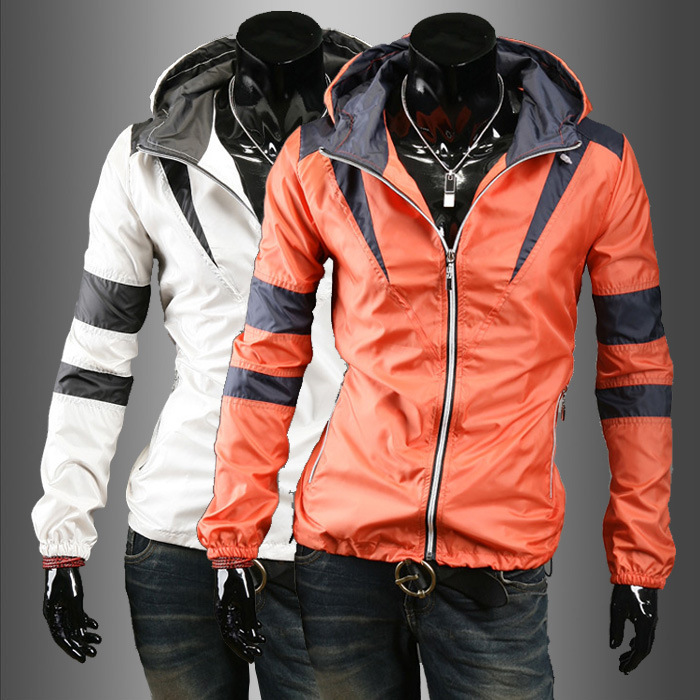 Ready-made 2015 New Fashion Hooded Fitting Running Man Sports Jacket Sportwear
