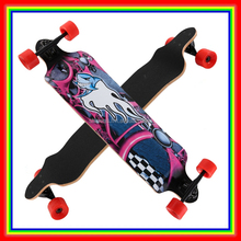 41*9.5'' Concave Mountain Skaten Skateboard Boat Shape Long Board