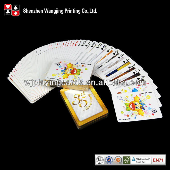 Customized Gold Edge Playing Cards Manufacturing,Custom Gold Edge Game Cards