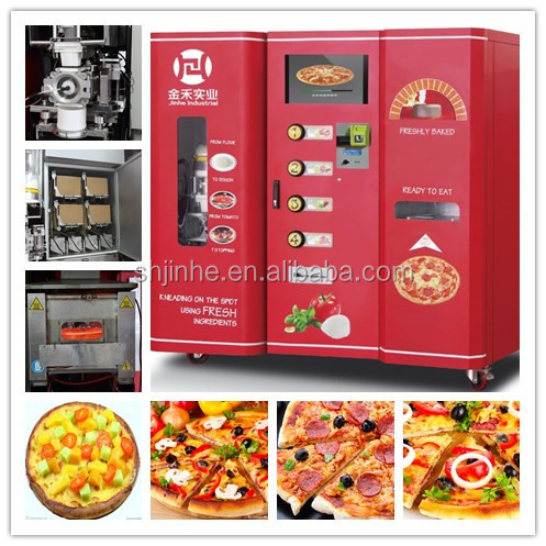 Snack coffee and pizza vending machine