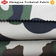 Cotton/polyester fabric cvc 80/20 camouflage fabric 120t*60t