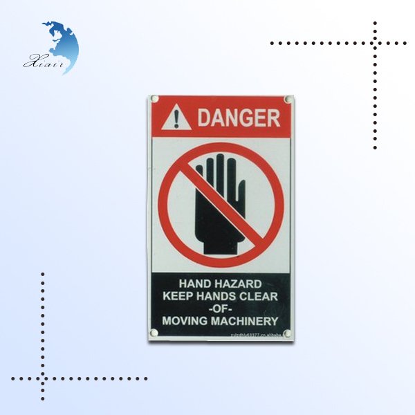 Road weather proof printed traffic warning safety signs