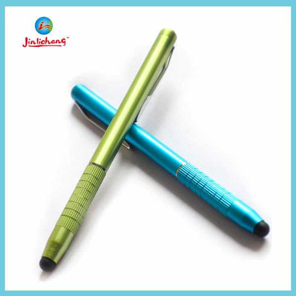 High Quality laser pointer led light ball pen pda stylus pen made in china