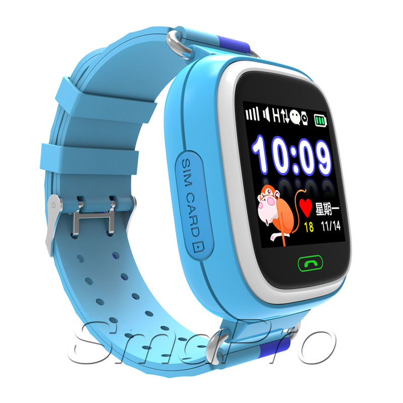 2017 Best Kids gift touch screen SOS <strong>Phone</strong> Call WIFI GPS smart watch for kids q90 smart watch <strong>phone</strong> user manual