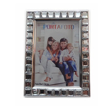 Paper Christmas gift photo frames with diamond