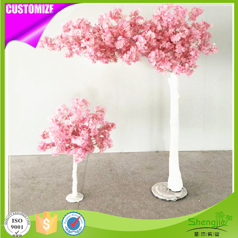 High Simulation decorative plastic artificial cherry blossom tree for weddings