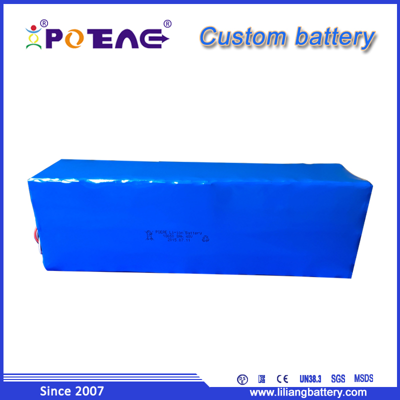 Manufacture energy storage electric bicycle battery pack 48V 8Ah for industrial weighing machine/electric dust carts