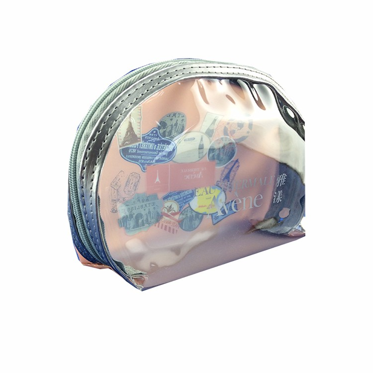 Fashion Cosmetic High Quality Transparent Pvc Phone Charger Bag