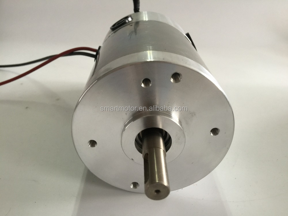 90ZYT02A high torque and power 12v / 24v / 48v Dc Motor, rated 3000rpm 1.8Nm