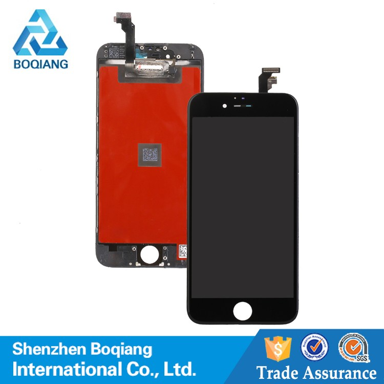 Cheap Wholesale LCD Touch For iphone 6, for iphone 6 lcd with digitizer, Mobile Phone Display For iphone 6 LCD