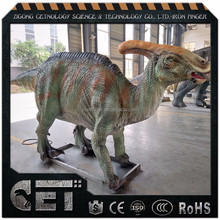 Cet-A-1375 natural size dinosaurs statue for collection