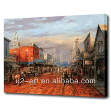 Canvas pictures classical Western scenery oil painting reproduction
