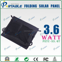 solar cell 3.6W triple junction solar cell for outdoors