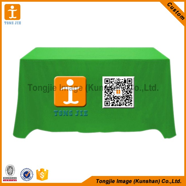 Customized logo desk table cloth printed