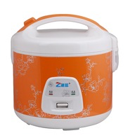 orange color electronic rice cooker